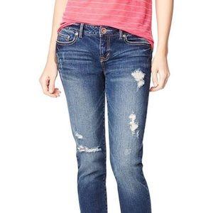 Aeropostale Bayla Skinny Jeans 4 Short 4P